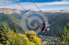 Cable car in Sinaia