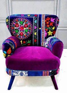 Bordado Hecho Por Indios Huicholes De Mexico/ Broidery Made By Huichol  Indians From Mexico