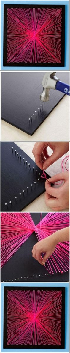 DIY String Art DIY String Art by diyforever