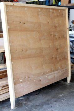 fabriquer une tête de lit bois tutoriel-facile-motif-chevron