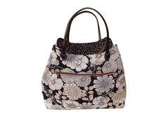 Handmade Tasche Handtasche Schultertasche bag von Lalilalula #bags #handbags #shoulder bags #flower #Blumen