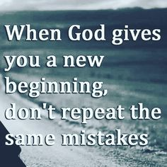 Don't ever repeat the same mistake. Double Tap if you agree