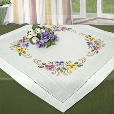 Counted Cross-Stitch Kits - Hundreds of premium-quality stitched kits. Cross Stitch Heart, Cross Stitch Borders, Counted Cross Stitch Kits, Cross Stitch Flowers, Cross Stitch Designs, Cross Stitch Patterns, Crewel Embroidery, Cross Stitch Embroidery, Embroidery Designs