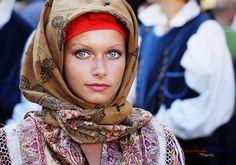 Lady from Sardinia - blue eyes