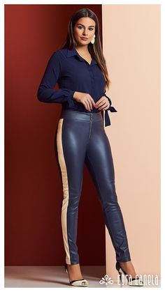 Sexy Leggings Outfit, Socks Outfit, Leather Pants Outfit, Faux Leather Pants, Girls In Leggings, Leggings Are Not Pants, Spandex Girls, Pants For Women, Clothes For Women