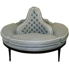 Entry Round Settee, from Windsor Smith Home - Google Search
