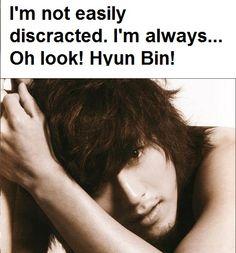 How Often do I run into Hyun Bin??