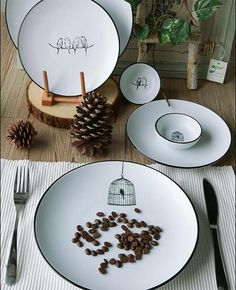 Bird Dinnerware Set