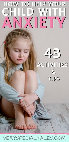 How To Help A Child With Anxiety: Activities & Tips : ANXIETY IN KIDS: 43 activities and tips to help your child deal with anxiety and worry /Best Parenting Tips for Anxiety / Coping Skills for Anxiety Anxiety Activities, Anxiety Coping Skills, Calming Activities, Anxiety Tips, Anxiety Help, Gentle Parenting, Parenting Teens, Parenting Hacks, Teen