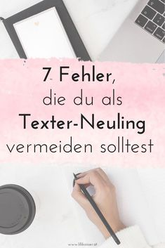 Machst du diese häufigen Anfängerfehler von Texter*innen? Business Coach, Online Business, Content Marketing, Online Marketing, Coaches, Blog, Types Of Text, Writing Tips, Social Media