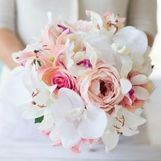 Make your wedding bouquet with silk flowers from Afloral.com. It is a great way to save money and create a keepsake from your wedding day