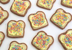 Make Fairy Bread Cookies | Etsy Blog