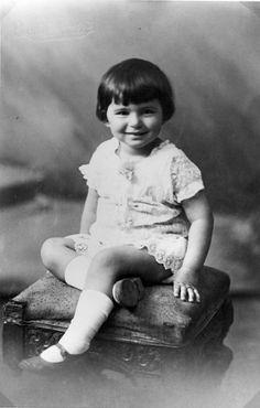 Vilna, Poland, A little Jewish girl lost in holocaust, 1929.
