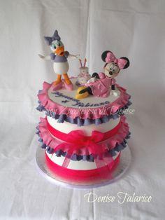 "Denise Talarico ""Disney cake""- torta per due gemelline"