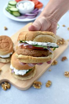 Greek Walnut Sliders