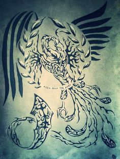 The legend of the Phoenix (HNZ ultimate Tribal) by Tirbalsking on DeviantArt