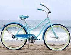 Huffy Good Vibrations Women's Cruiser Bike Buy Bike, Bike Run, Cycling Bikes, Cycling Equipment, Mountain Bicycle, Mountain Biking, Specialized Bikes, Bicycle Maintenance, Bike Shoes