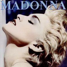 True Blue. Released the last of june in 1986. #Madonna http://www.roeht.com/true-blue/  #vinylrecords #music #12inches #AlbumArt