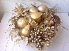 Arranjos de mesa para o Natal | AnInteriores
