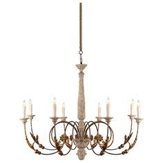 Pauline Chandelier by Aidan Gray $1,320 - Great in any room for romantic style