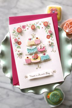Gorgeous Mother's Day Card from Hallmark. Cute 3-D elements. #noordinarycard