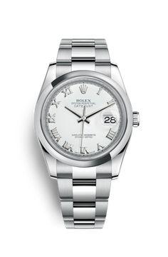 Reloj Rolex Datejust 36: Acero 904L – 116200