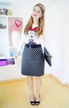 #fashion #fashionista @Marie McGrath Minnie Mouse Outfit