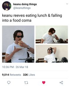 11 Memes of Keanu Reeves Just Doing Things - We share because we care. A resource for sharing the latest memes, jokes and real stuff about parenting, relationships, food, and recipes Keanu Reeves Immortal, Keanu Reeves Meme, Keanu Reeves Young, Stupid Funny Memes, The Funny, Funny Quotes, Haha Meme, Lol, Funny Minion Memes