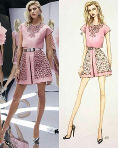 Illustration by @nataliazorinliu. • • • • • #instalike #zuhairmurad #art #pretty #cute #beautiful #love #colorful #blog #blogger #follow #followme #instagood #instamood #fashionblog #hot #amazing #beauty #fashionblog #likeforlike #followforfollow #f4f #couture #hautecouture #glamour #chic #style #trend #fashion #instafashion #fashionillustration