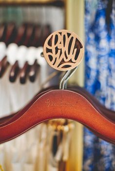 Hanger detail in our Lilly Pulitzer Store at the Mall at Green Hills in Nashville.