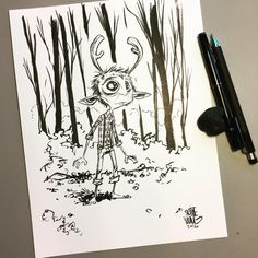 Skottie Young: Gus from Sweet Tooth