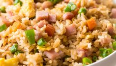 Better than Takeout Ham Fried Rice. Fried rice. Mmm