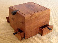 Pear Wood Box