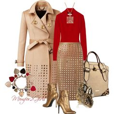 """""""One Day...Me & Burberry"""" by momfor2girls on Polyvore"""