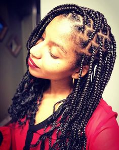 Best African hair braiding pictures & ideas for black women hairstyles. Also learn how to braid hair with a great braiding hair tutorial video for natural and. African Braids Hairstyles, Braided Hairstyles Tutorials, Unique Hairstyles, Black Women Hairstyles, Hair Breakage Treatment, Natural Hair Transitioning, Micro Braids, Damaged Hair, Cornrows