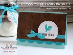 Cute Food Gifts and Packaging Plus Sneak A Peek at Stampin' Up! Wood Words. Coming 1st June to Stampin' Up! UK, this new set is super cute! Visit this blog for all the details. X