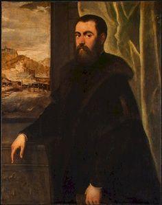 Venice, The Republic of Venice  Jacopo Robusti Tintoretto, 1570: Portrait of a Venetian Senator