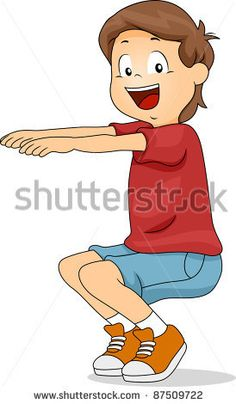 Find Illustration Kid Squatting stock images in HD and millions of other royalty-free stock photos, illustrations and vectors in the Shutterstock collection. Thousands of new, high-quality pictures added every day. Exercise Activities, Gross Motor Activities, Spring Activities, Therapy Activities, Activities For Kids, Yoga For Kids, Exercise For Kids, Chico Yoga, Crossfit Kids