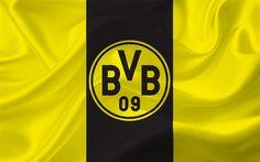 Descargar fondos de pantalla El Borussia de Dortmund, Emblema, logo, futbol, Alemania, la Bundesliga