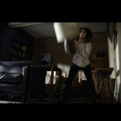 Day 12: Favorite Aria moment. I loved when she destroyed Ezra's apartment.