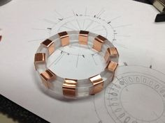 New Arc Reactor (studio Replica) : 8 Steps (with Pictures) - Instructables Etching Machine, Iron Man Arc Reactor, Bijoux Diy, Ancient Civilizations, Bracelet Watch, Metal, Two By Two, Studio, Krishna