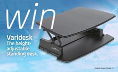 Weekly Giveaway: Win a VARIDESK