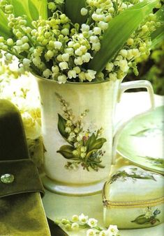 Theme: Lily of the Valley Cottage~