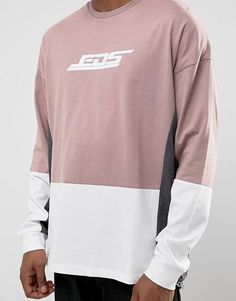 Asos, Sweatshirts, Long Sleeve, Sleeves, Sweaters, Mens Tops, T Shirt, Fashion, Full Sleeve T Shirts