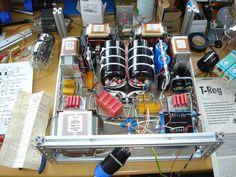 6C33C-B SE Verstaerker von Juergen Buschmann Valve Amplifier, Vacuum Tube, Audio, Gardening, Construction, Engineering, Concept, Projects, Building