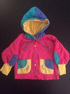 Vintage 1990's Gymboree Color Block Sweatshirt