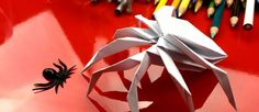 How To Fold An Origami Spider! - Art for Kids Hub