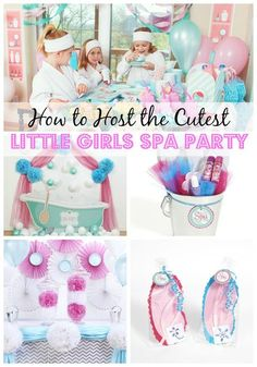 good looking ideas for 10 year old birthday party at home. From the cupcakes and table decor to party favors activities  this little girls Little Girls Spa Party spa at home with homemade face masks