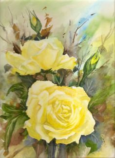 Rosas de thé. (Vendido)