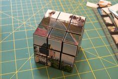 Rubik's photo cube tutorial